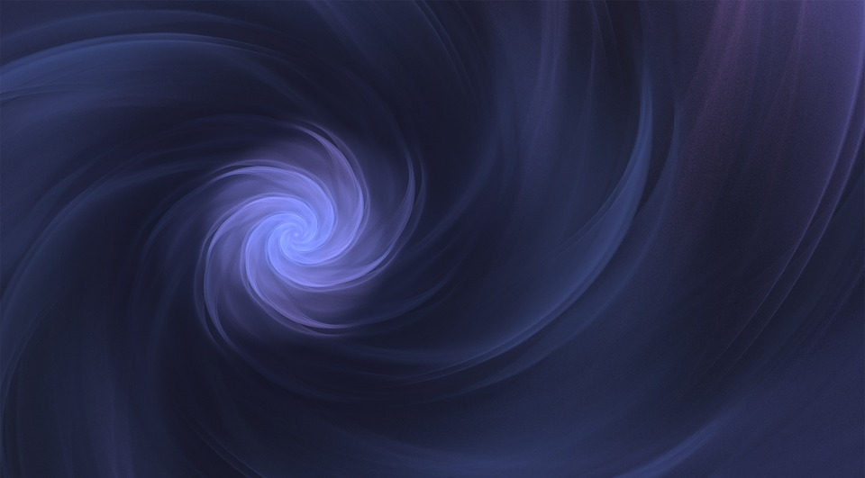 Free Illustration Blue Swirl Background Free Image On