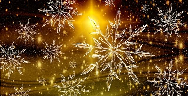 Free illustration: Christmas, Star, Ice Crystal - Free ...