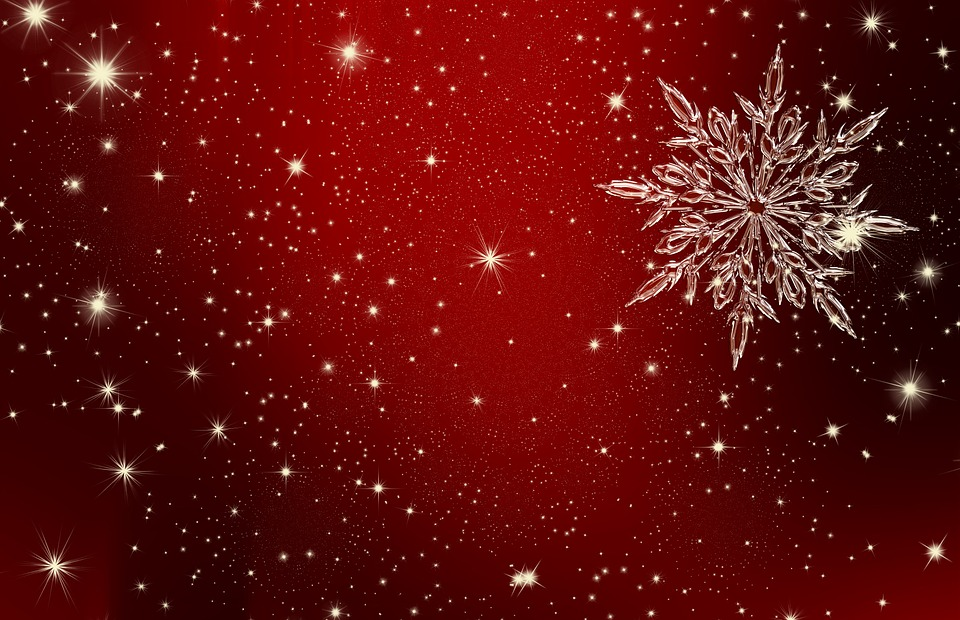 Free illustration christmas star ice crystal