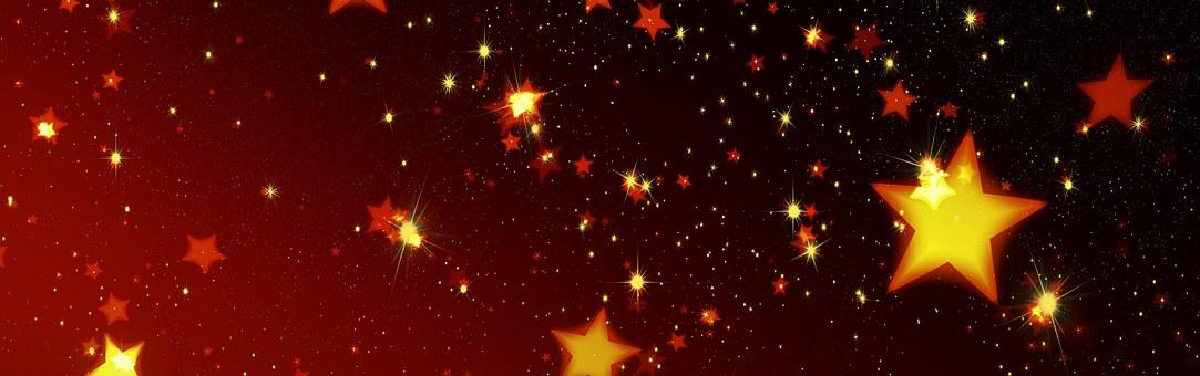 Weihnachten, Sterne, Hintergrund