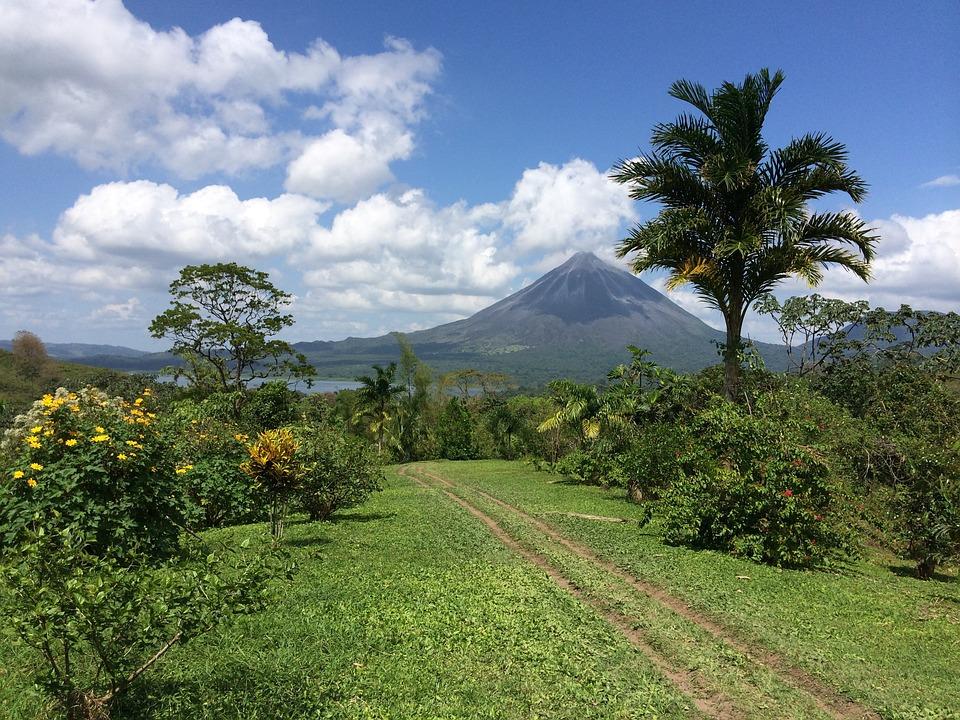 Voyage, Volcan, Costa Rica, Aventure