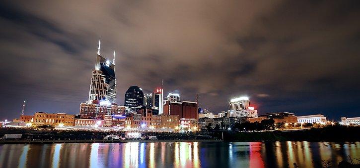 City, Cityscape, City Skyline, Nashville Tn