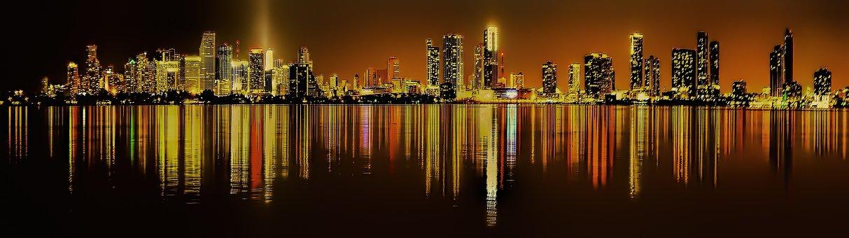 Miami, Florida, Downtown, Cityscape