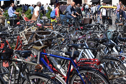 Curiosidades de Copenhage, Bicicletas en Copenhage