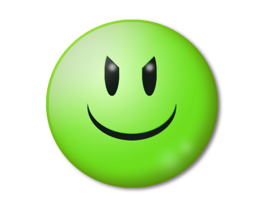 Emoticon Evil Smile - Free image on Pixabay