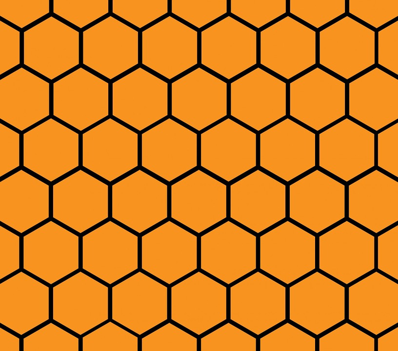 Free illustration honeycomb pattern background free image on honeycomb pattern background wallpaper paper voltagebd Image collections