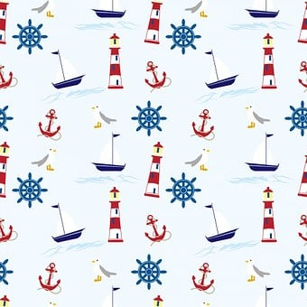 Nautical, Wallpaper, Background, Paper
