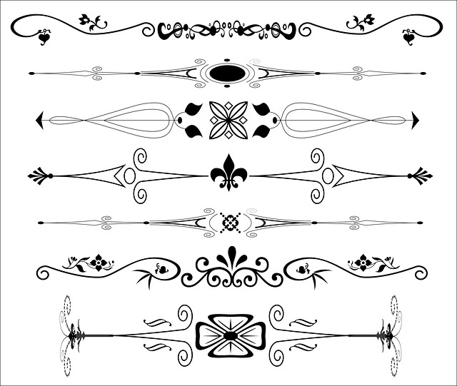 Free Illustration Text Dividers Page Dividers