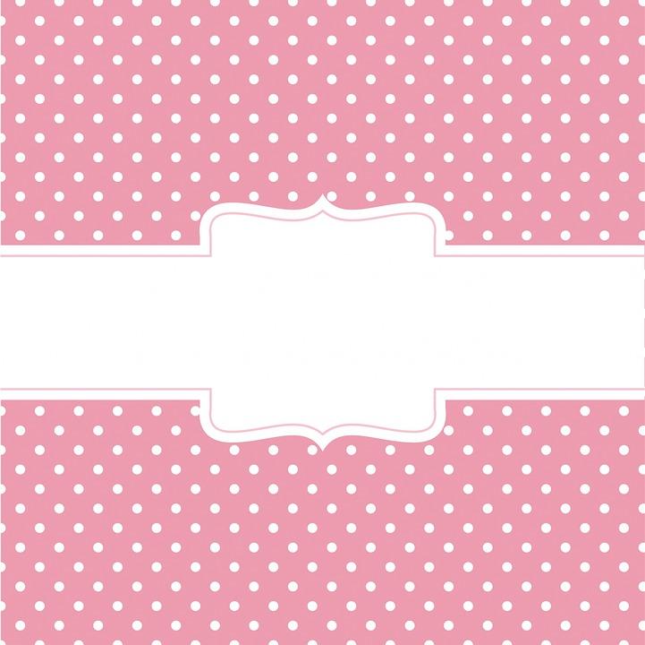 Ilustração gratis: Bolinhas, Pontos, Rosa, Branco - Imagem gratis no Pixabay - 938302
