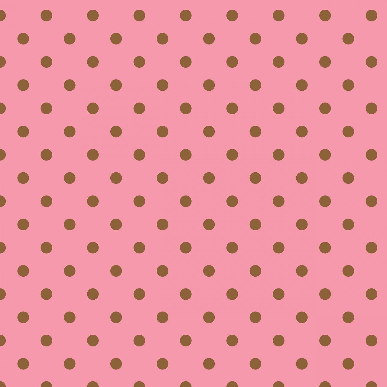 Картинки в горошек розовый