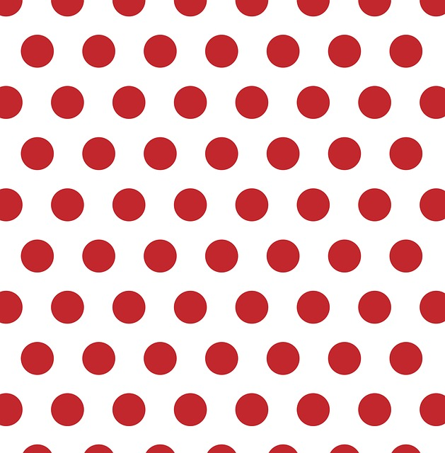 Polka Dots Red White Free Image On Pixabay