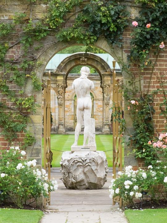 Statue, Garden, Greek, Sculpture, Old, Decoration