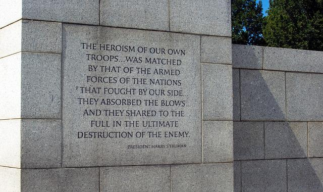 Free Photo Wwii Memorial Quotes War World Free