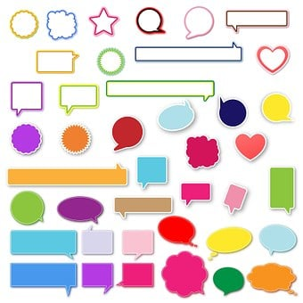 Speech, Bubbles, Design, Talk