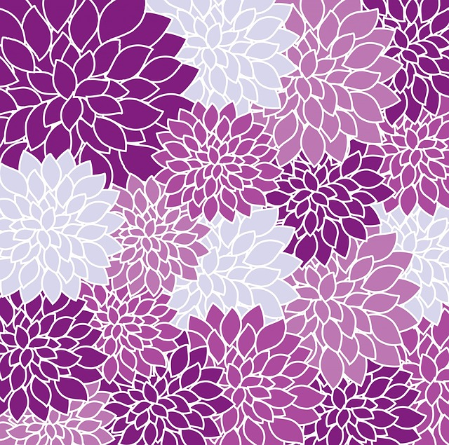Free Illustration: Floral, Wallpaper, Flowers, Dahlia