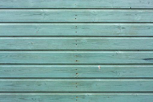 Wood Texture Background Planks Green