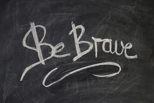 Board Slate Blackboard Font Courageous Bra