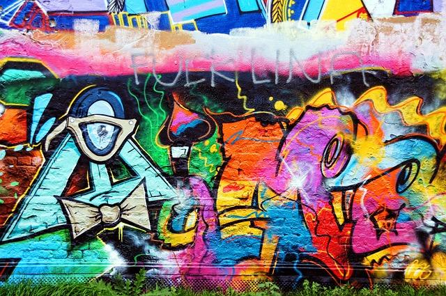 street wall painting designs hd