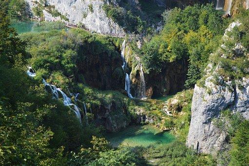 Plitvice, Lake, National Park, Croatia