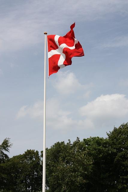 Dansk Flag Dannebrog · Gratis foto på Pixabay