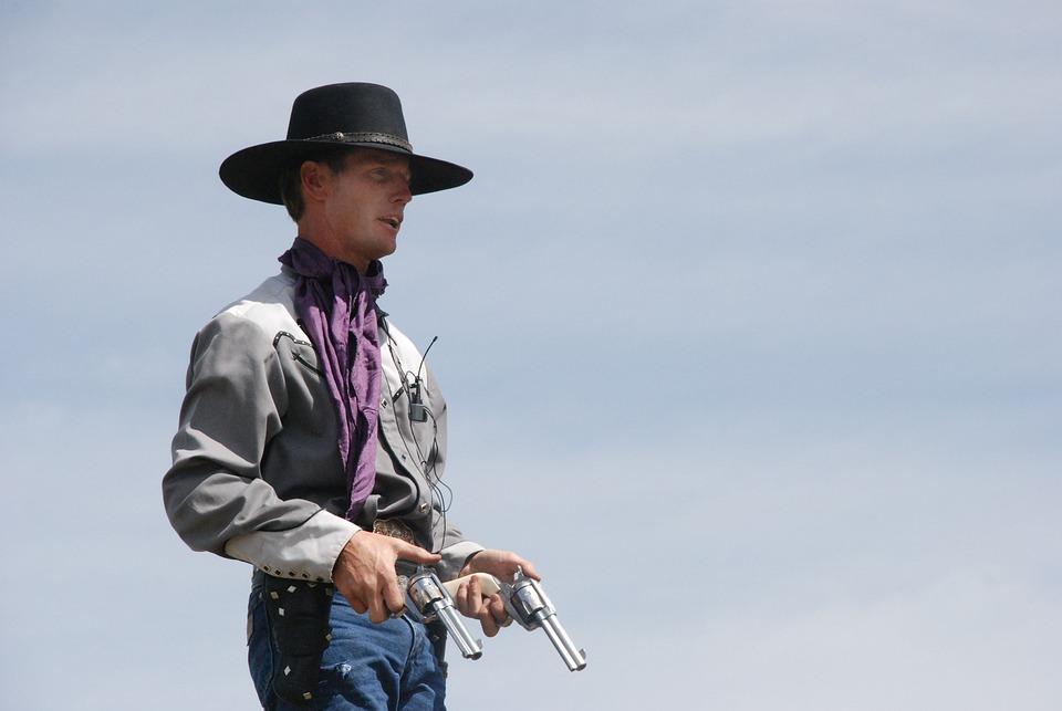 Cowboy Guns Wallpaper Free photo: Cowboy, Gu...
