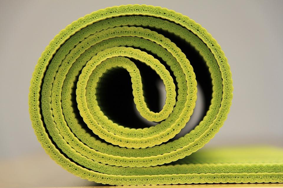 Kostenloses Foto: Yoga, Yogamatte, Grün - Kostenloses Bild auf ...