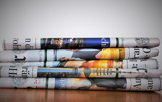 Newspaper, Paper, Newsprint