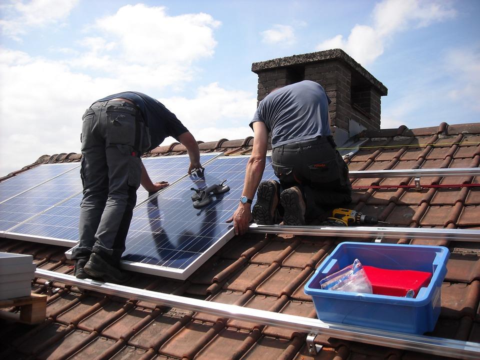 Panneaux Solaires, Placement, Énergie Verte, Écologique