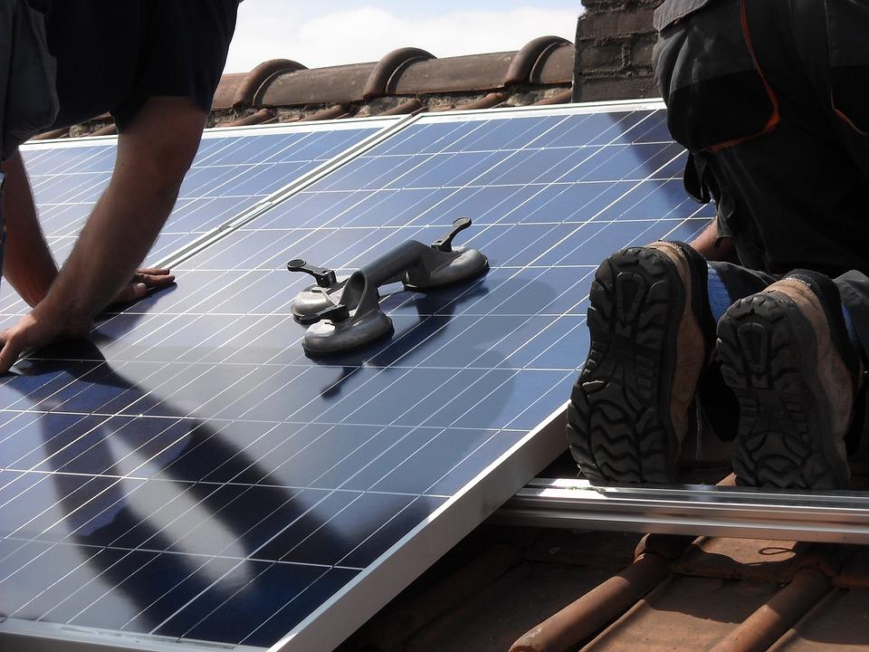 Panneaux Solaires, Placement, Énergie Verte, Écologie