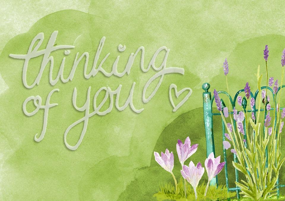 thinking of you free image on pixabay