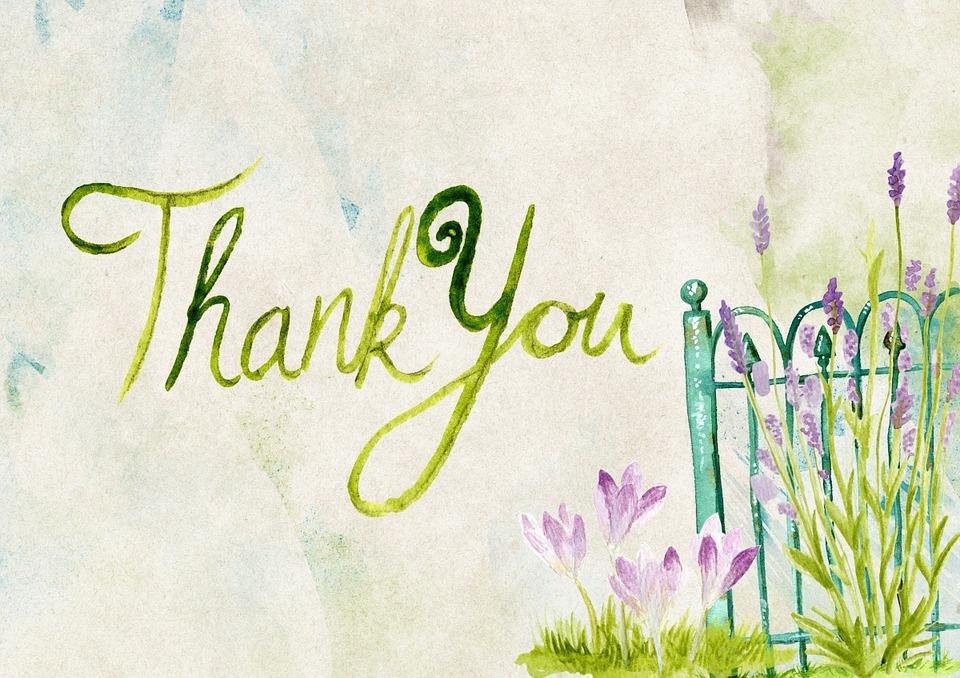 Thank You Thanks Greeting · Free Image On Pixabay