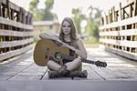 guitar, country, girl