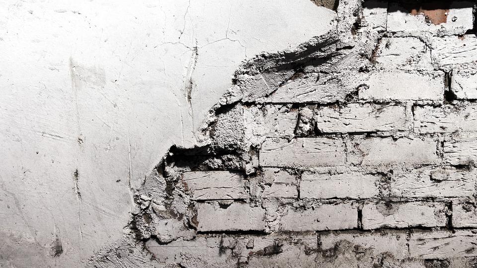 レンガの壁, 壁, グランジ, テクスチャ, 背景, 表面, 汚い, ラフ, 染色, ペイント, 風化した