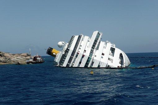Concordia Island Lily Shipwreck Ship Sea O