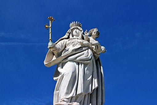 母, マリア, 像, フィギュア, 神の母, マドンナ, キリスト教, イエス