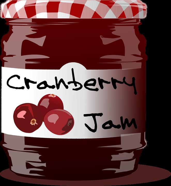 Confiture de fraise png - Strawberry jam clipart