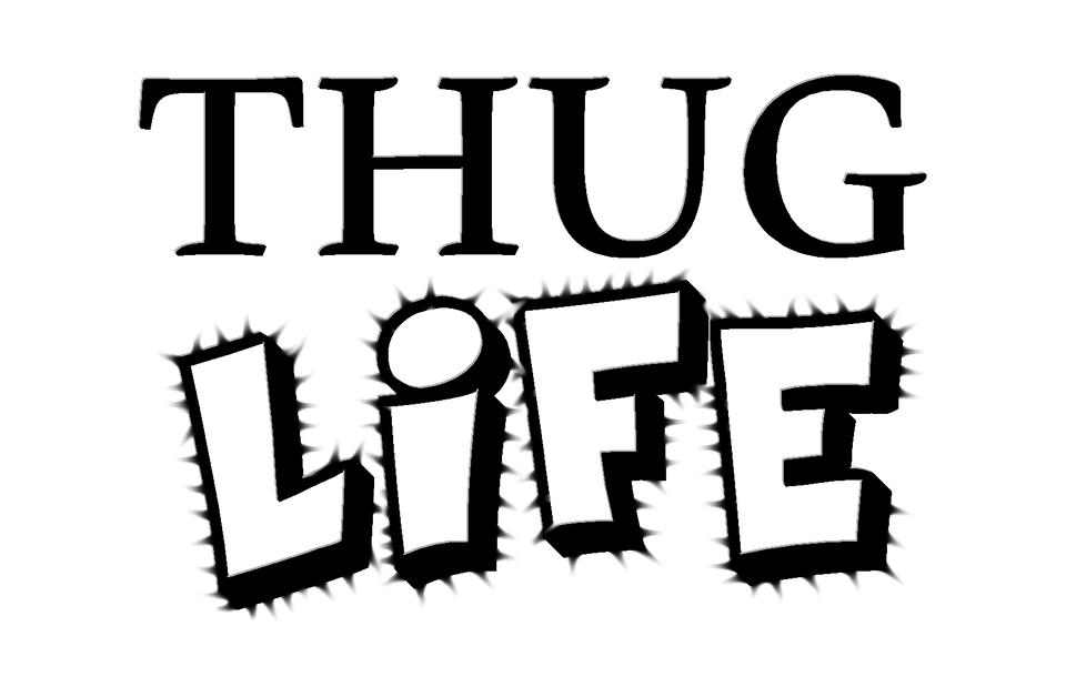 Free Illustration Thug Life Thug Life Young Free