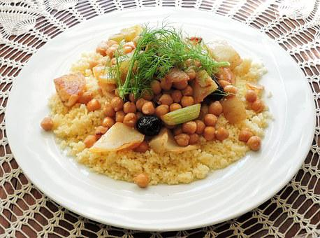 Couscous Fenouil Pois Chiches Olives Alime