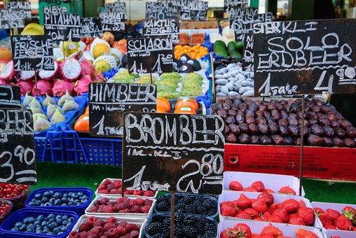 Mecado Naschmarkt. Viena