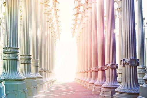 円柱状の, アーケード, アーキテクチャ, 建物, 工事アート, 文化