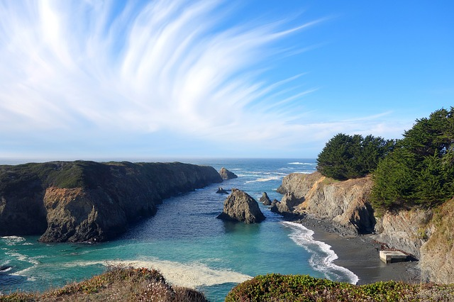 Seascape Headland Mendocino State 183 Free Photo On Pixabay