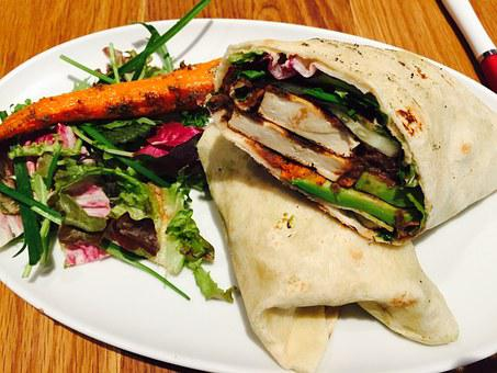Chef's Salad Wrap Sandwich Recipe