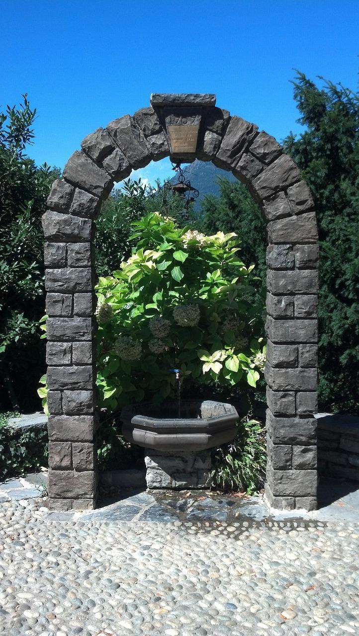 Fountain Arch Keystone - Free photo on Pixabay