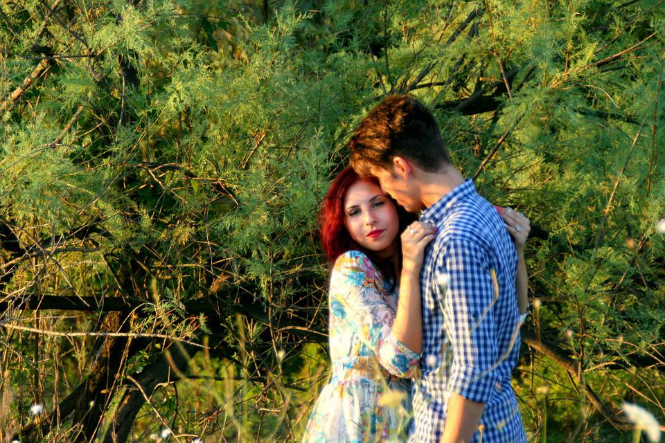 Boy, Girl, Love, Pair, Hug, Kiss, Beautiful, Park