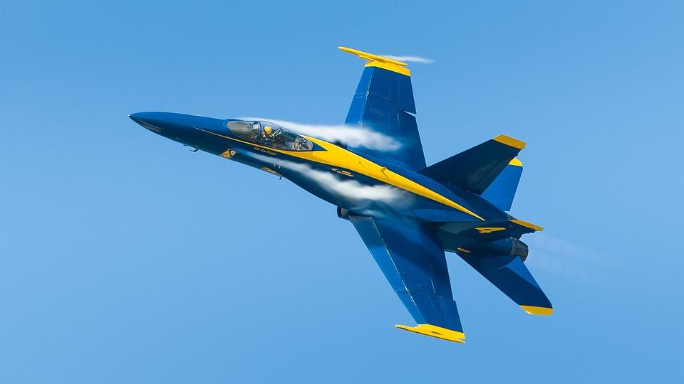 free photo blue angels jet fighter navy free image on pixabay