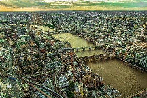 Views Of The City, Panorama, London