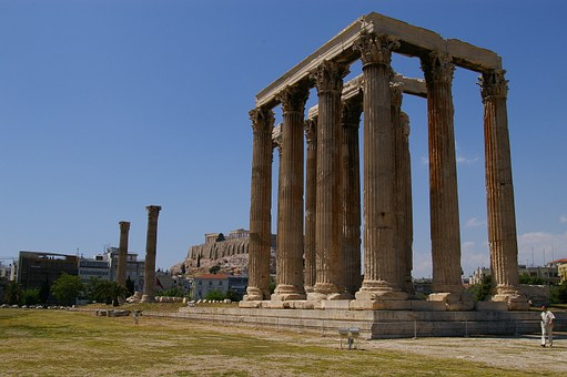Templo de Zeus Olímpico Atenas