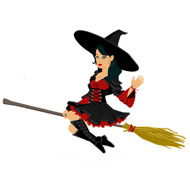 how to fly on a broom vine