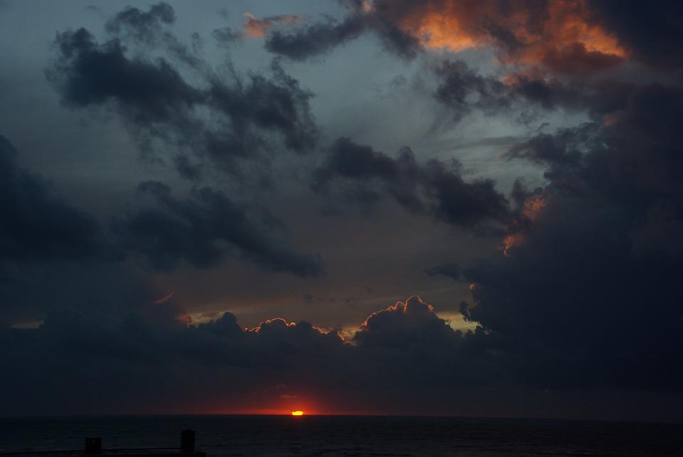 Free Photo Gewitterstimmung Dark Clouds Free Image On