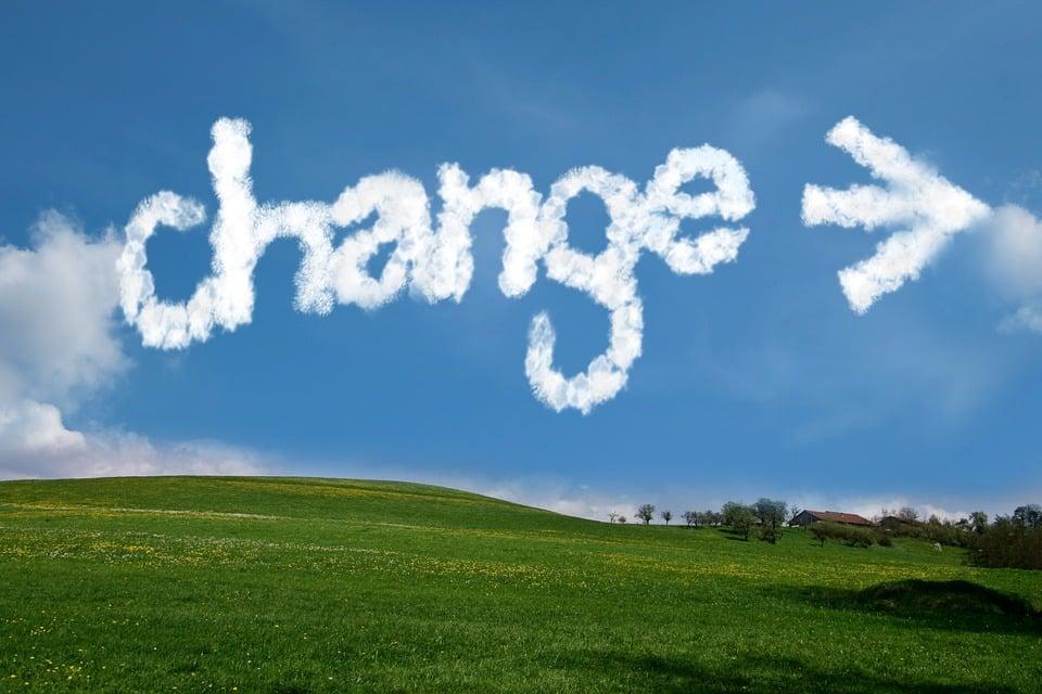 変更, 矢印, 雲, 空, 方向, 開始, 新しい始まり, 初め, 始めます, リニューアル, イノベーション